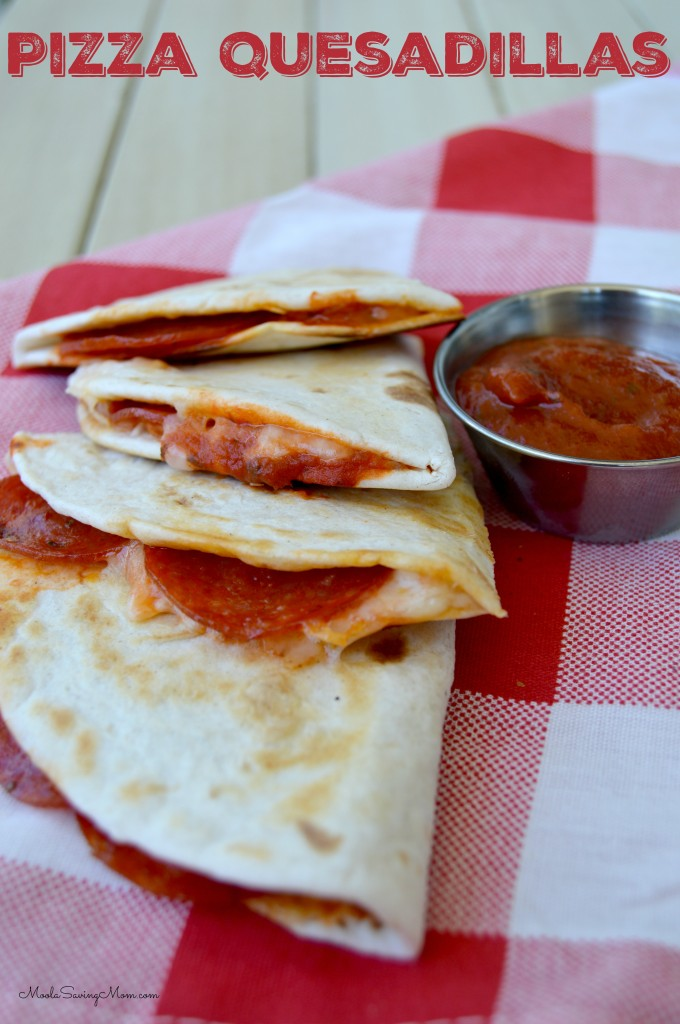 pizza quesadaillas