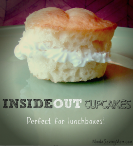 Inside Out Cupcakes: Perfect for Lunchboxes