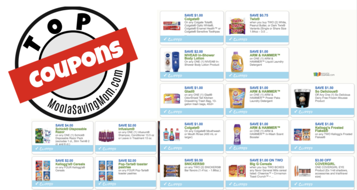 we have several great coupons out right now here are the most popular
