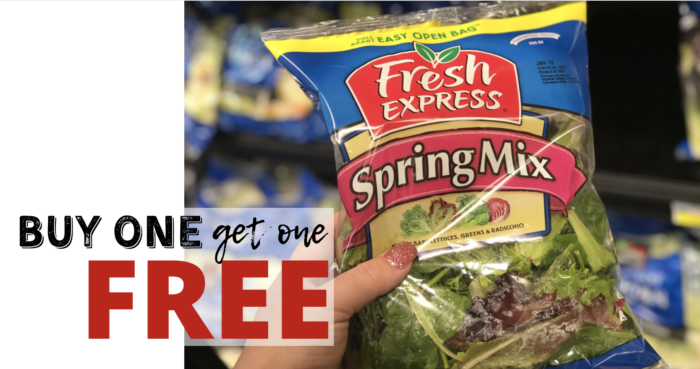 Buy One Get One FREE Fresh Express Salad