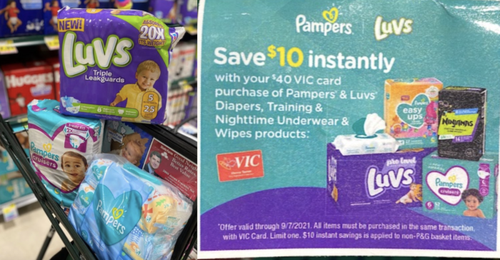 pampers luvs promo
